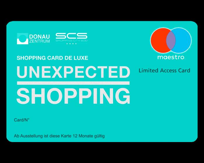 SHOPPING CARD DE LUXE