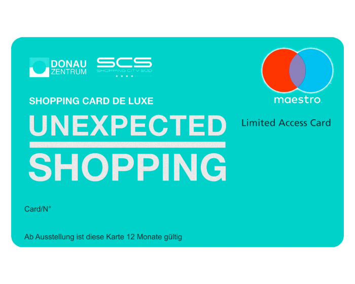 SHOPPING CARD DE LUXE